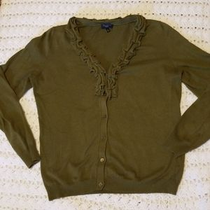 Long sleeve cardigan sweater from Talbots